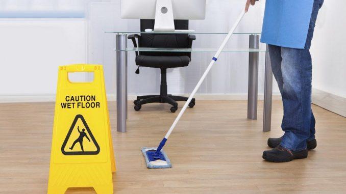 kontorrengøring